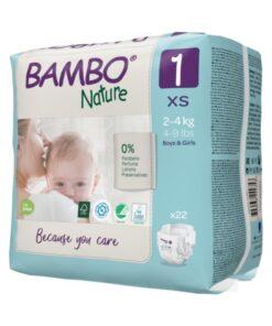I pannolini Bambo Nature sono tra i più ecocompatibili