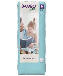 I Pannolini Bambo Nature - Taglia 6 Pacco Grande sono tra i più ecocompatibili sul mercato.
