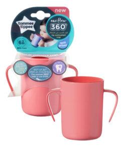 Tazza rosa 360° con maniglie - Tommee Tippee