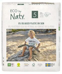 Pannolini ECO by Naty - pacco singolo taglia 5