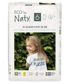 Pannolini ECO by Naty - pacco singolo taglia 6