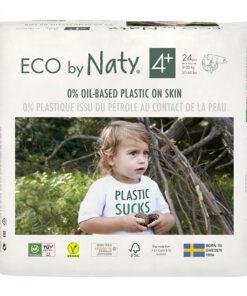 Pannolini ECO by Naty - pacco singolo taglia 4+