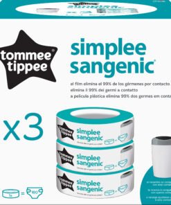 Ricarica Simplee Sangenic 3pz - Tommee Tippee