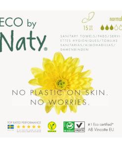 Assorbenti sottili flusso normale - Eco by Naty