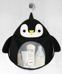 Pinguino Portagiochi da Bagno - 3 Sprouts