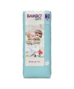 Pannolini Bambo Nature - Taglia 3 Pacco Grande