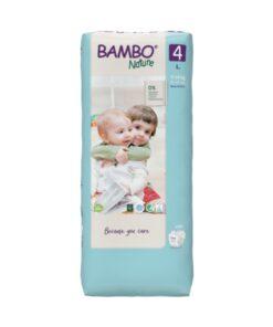 Pannolini Bambo Nature - Taglia 4 Pacco Grande