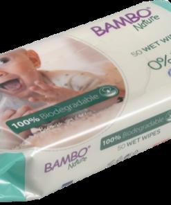 Bambo Nature - Salviettine Umidificate Biodegradabili 100%