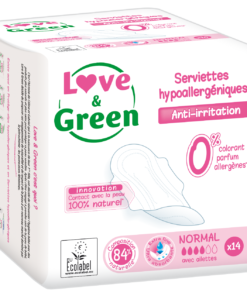 Love and Green - Assorbenti flusso normale con ali