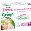 Pannolini Love and Green - Taglia 4+