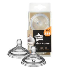 Tettarelle Closer to Nature - 6m+ flusso veloce - Tommee Tippee