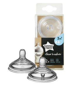 Tettarelle Closer to Nature - 3m+ flusso medio - Tommee Tippee