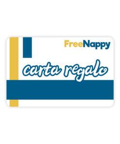 Carta Regalo FREENAPPY